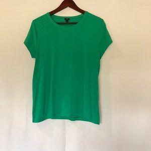 MWT J.Crew 365 Stretch Green T Shirt XL